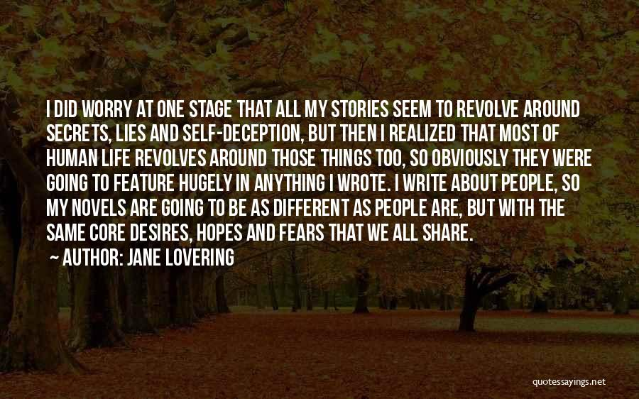 Fears Of Life Quotes By Jane Lovering