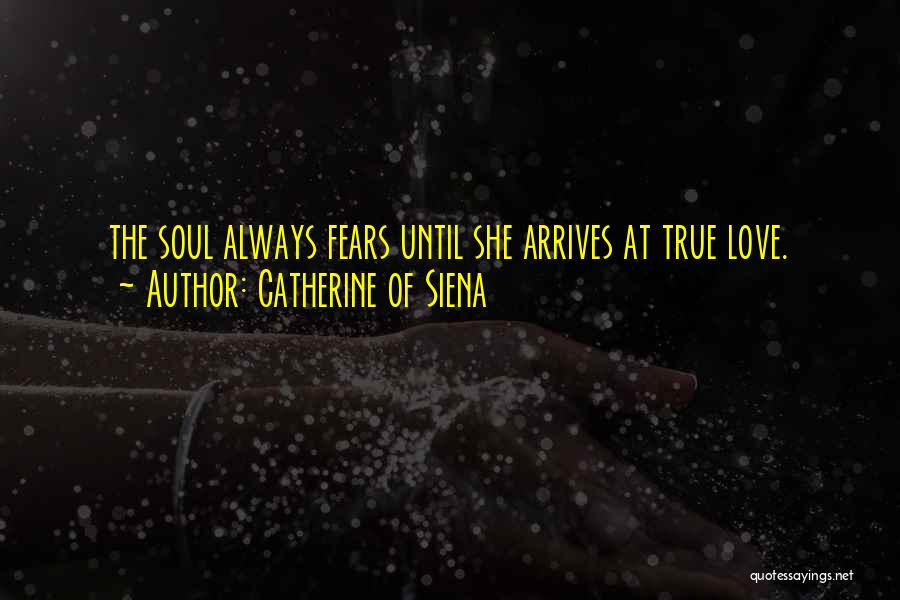 Fears Of Love Quotes By Catherine Of Siena