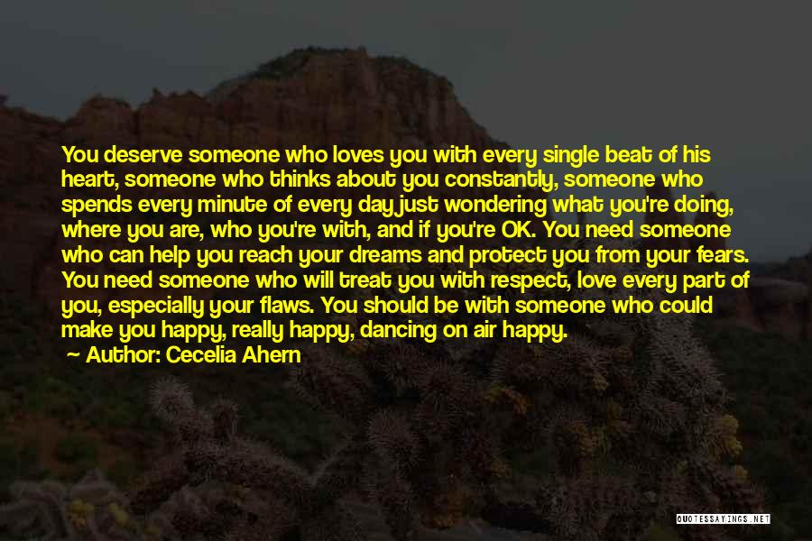 Fears Of Love Quotes By Cecelia Ahern