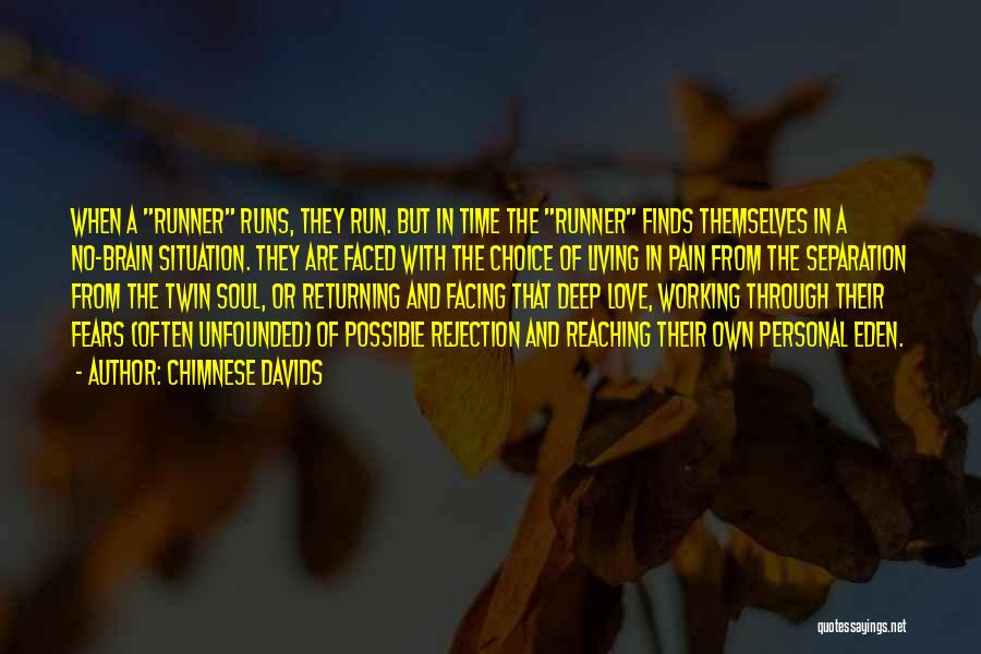 Fears Of Love Quotes By Chimnese Davids