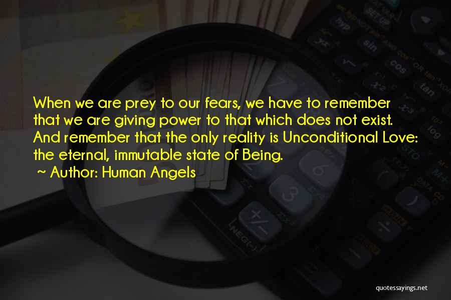 Fears Of Love Quotes By Human Angels