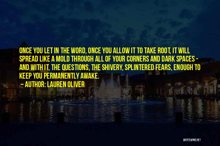 Fears Of Love Quotes By Lauren Oliver