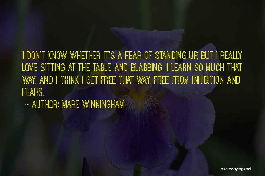 Fears Of Love Quotes By Mare Winningham