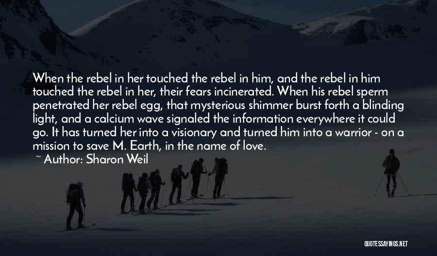 Fears Of Love Quotes By Sharon Weil