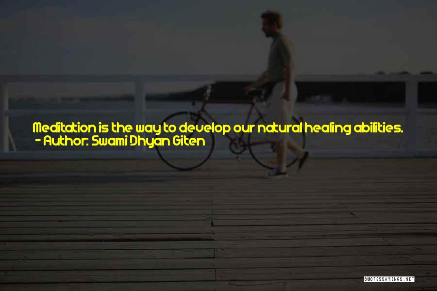 Fears Of Love Quotes By Swami Dhyan Giten