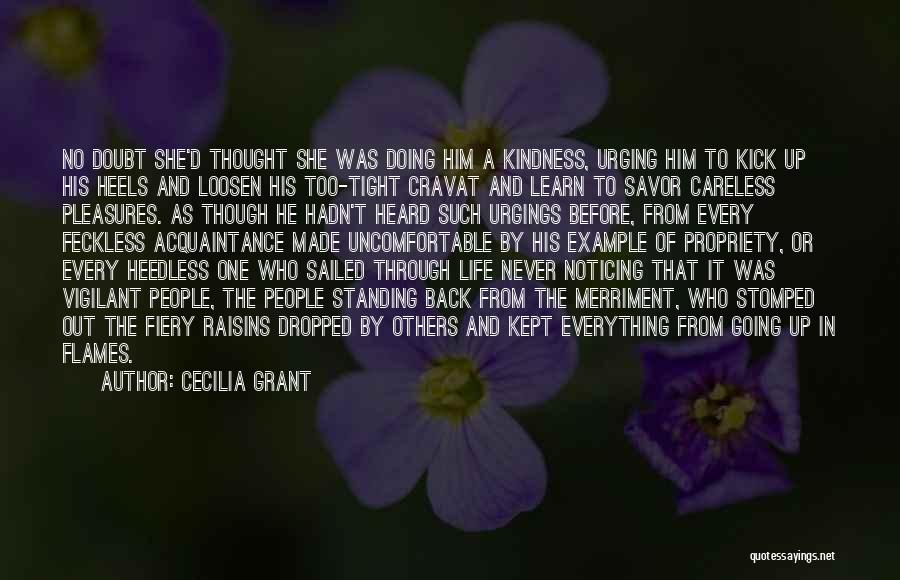 Feckless Quotes By Cecilia Grant