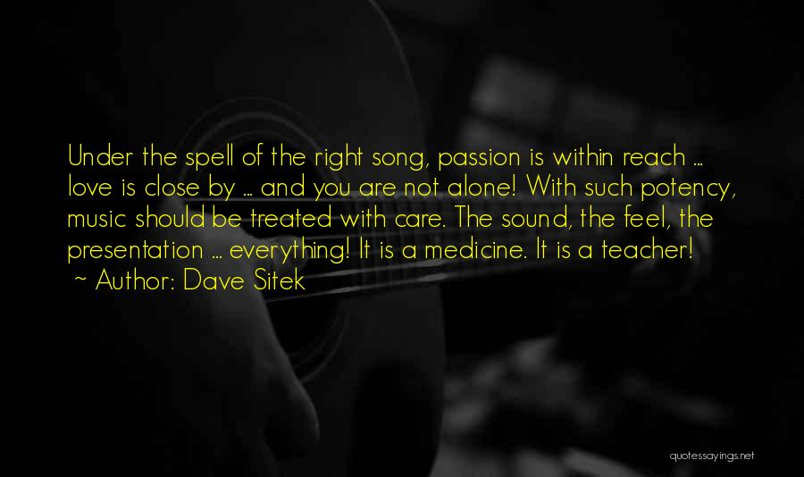 Feel So Close To You Right Now Quotes By Dave Sitek