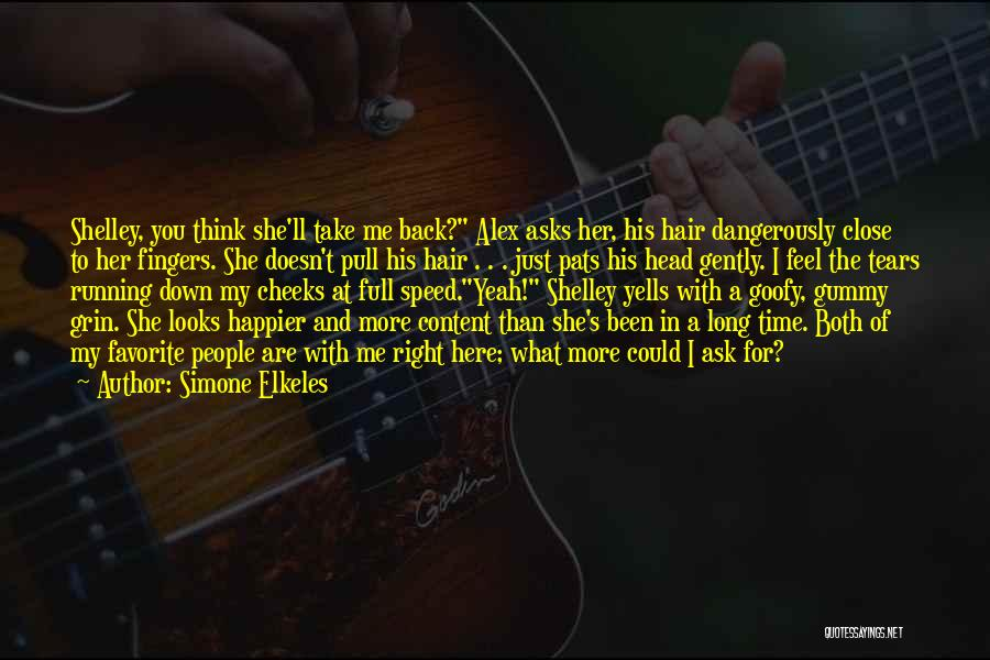 Feel So Close To You Right Now Quotes By Simone Elkeles