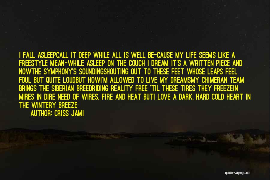 Feel The Breeze Quotes By Criss Jami