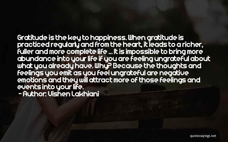 Feeling Abundance Quotes By Vishen Lakhiani