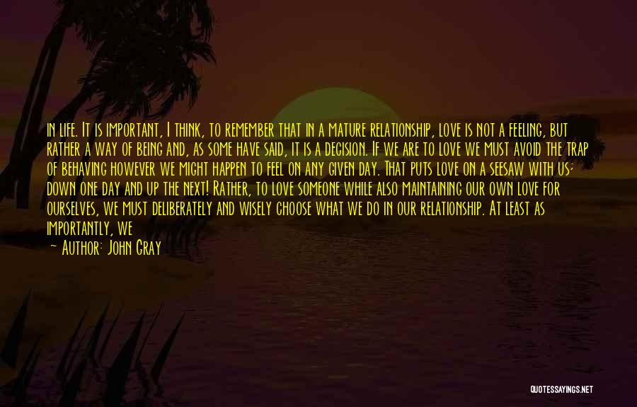 Feeling Adored Quotes By John Gray