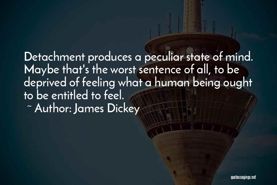 Feeling Entitled Quotes By James Dickey