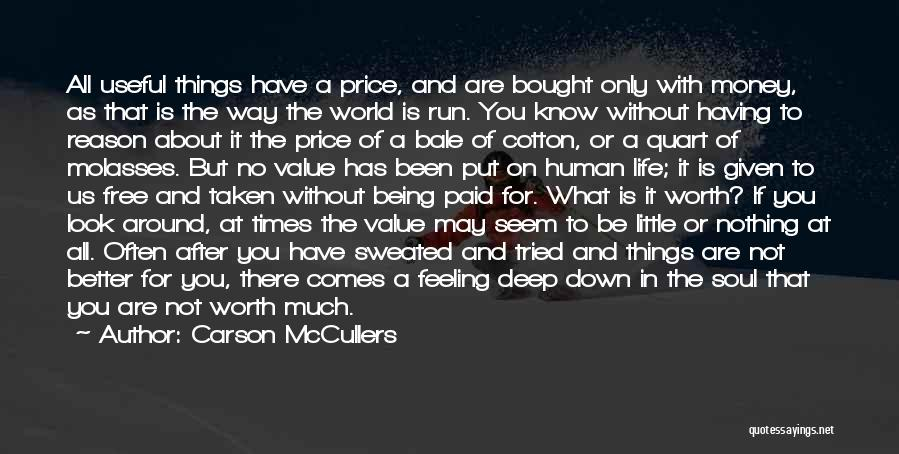 Feeling Much Better Quotes By Carson McCullers
