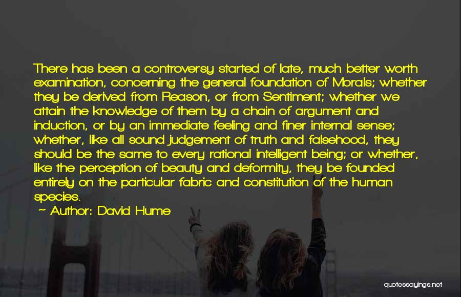 Feeling Much Better Quotes By David Hume