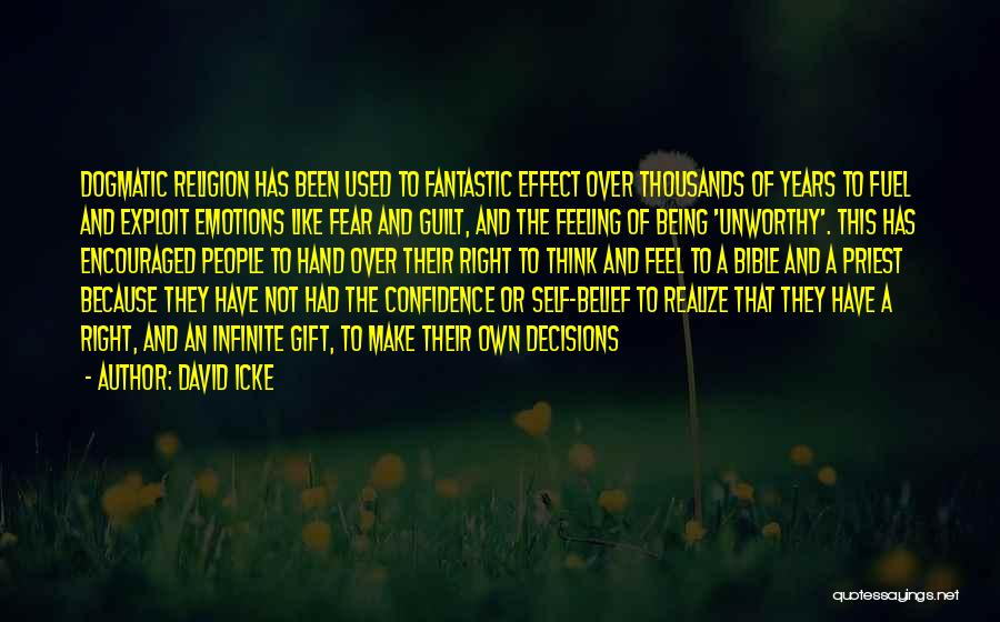 Feeling Not Ok Quotes By David Icke