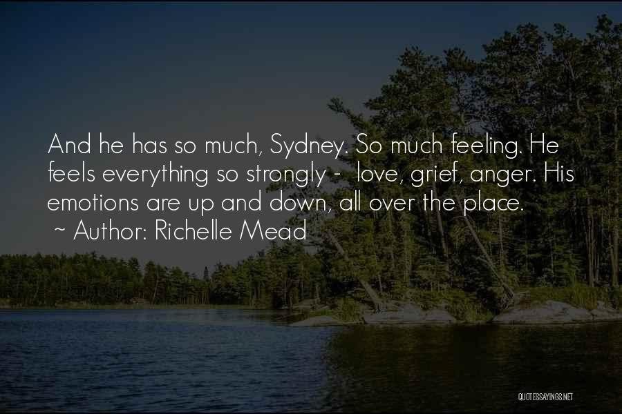 Feeling Not Ok Quotes By Richelle Mead