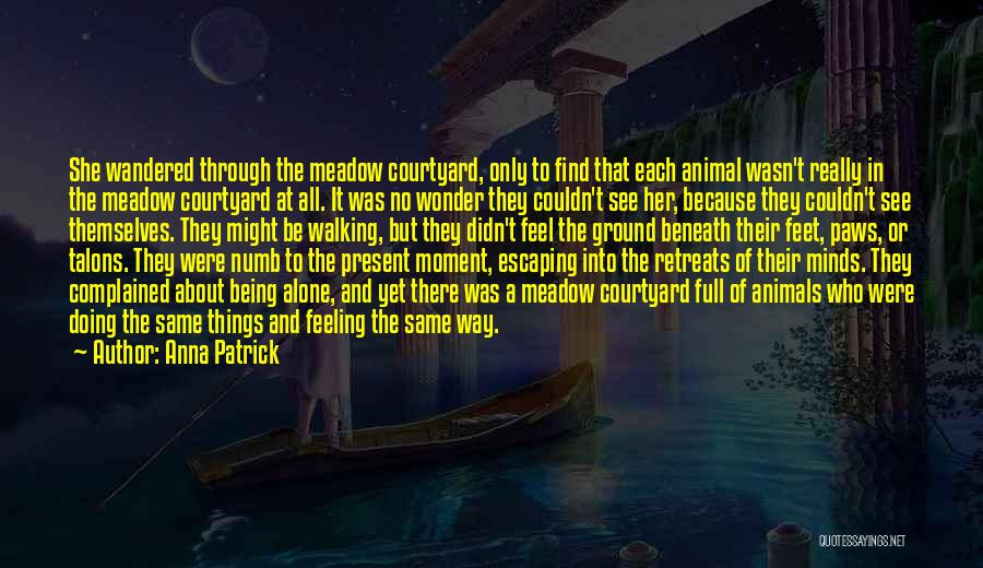 Feeling Of Alone Quotes By Anna Patrick