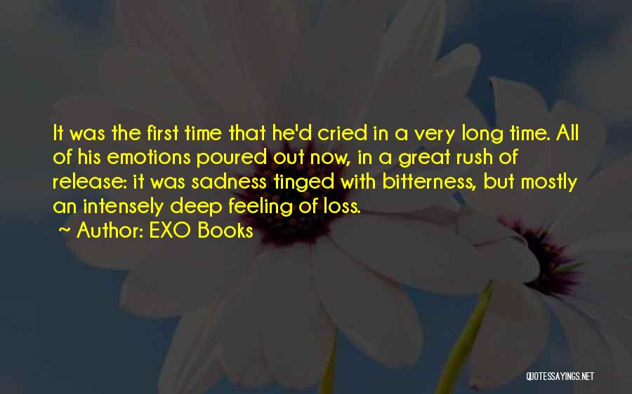 Feeling Sadness Quotes By EXO Books