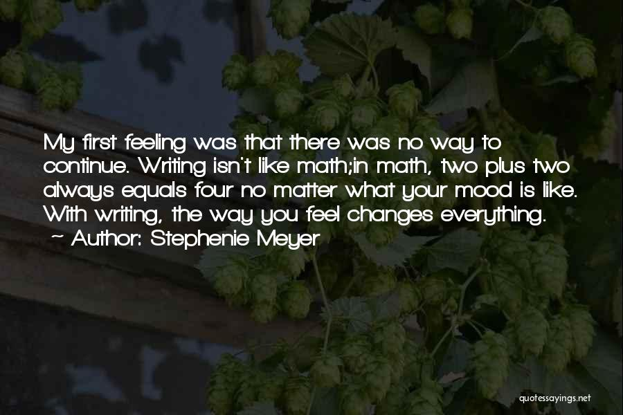 Feeling Sadness Quotes By Stephenie Meyer