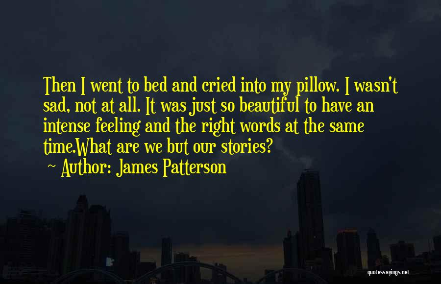 Feeling So Sad Quotes By James Patterson