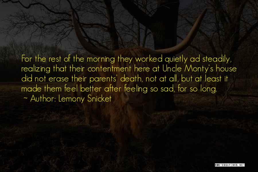 Feeling So Sad Quotes By Lemony Snicket