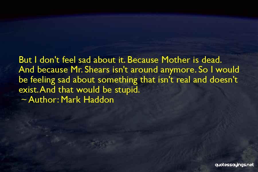Feeling So Sad Quotes By Mark Haddon