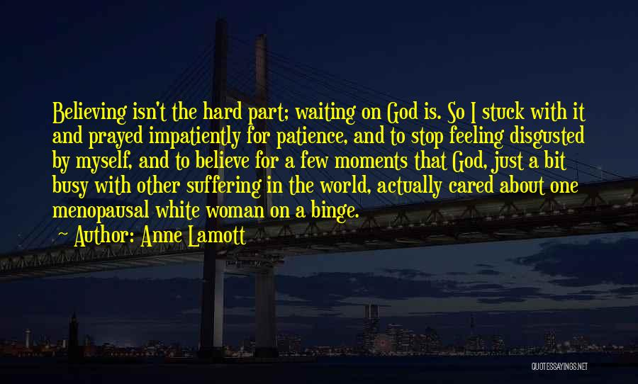 Feeling Stuck Quotes By Anne Lamott