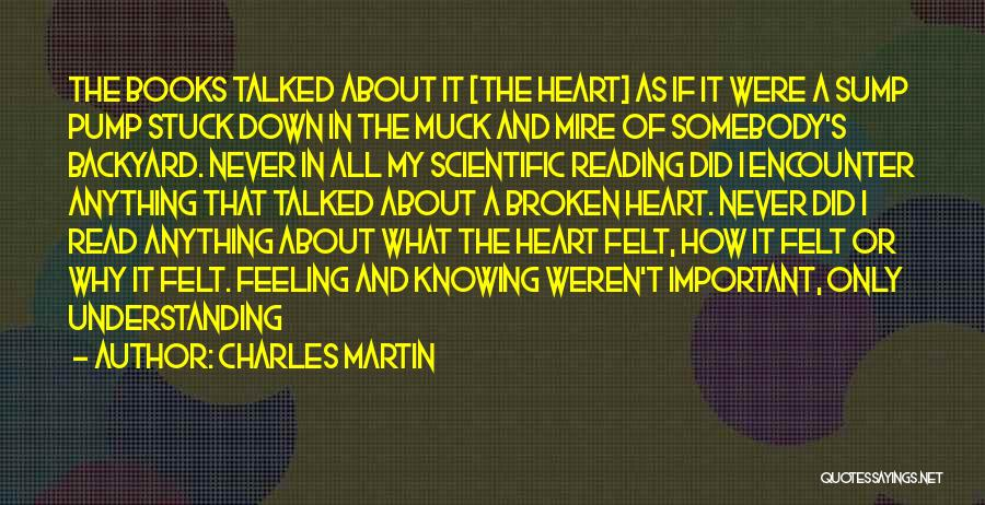 Feeling Stuck Quotes By Charles Martin