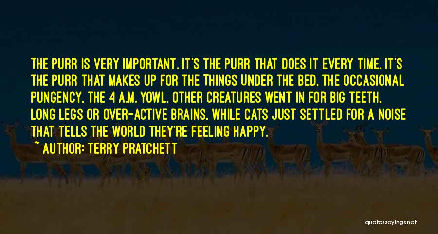 Feeling Very Happy Quotes By Terry Pratchett