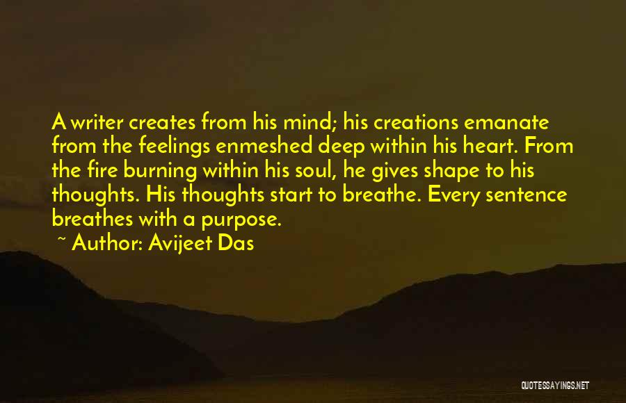 Feelings From Heart Quotes By Avijeet Das