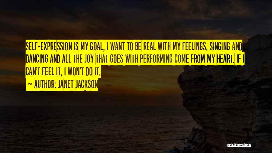 Feelings From Heart Quotes By Janet Jackson