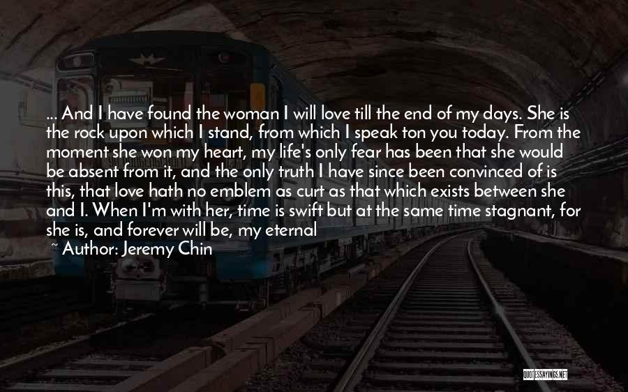 Feelings From Heart Quotes By Jeremy Chin