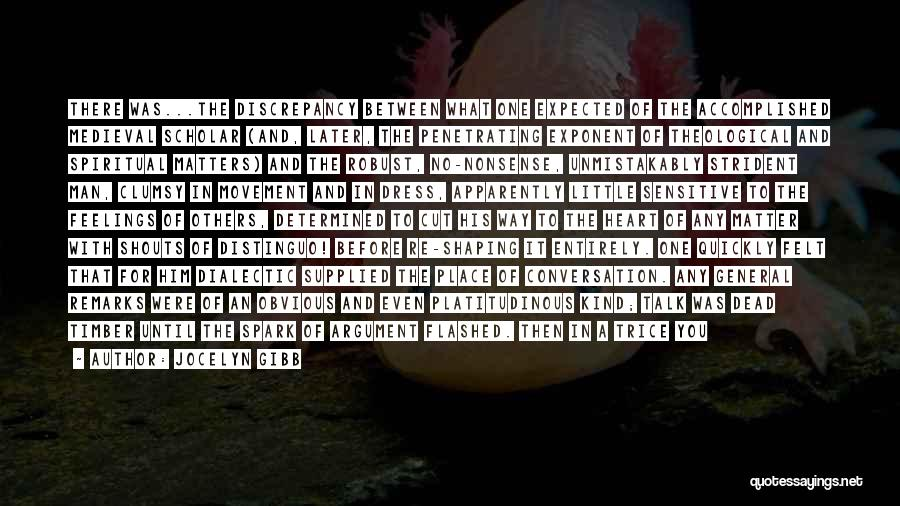 Feelings From Heart Quotes By Jocelyn Gibb