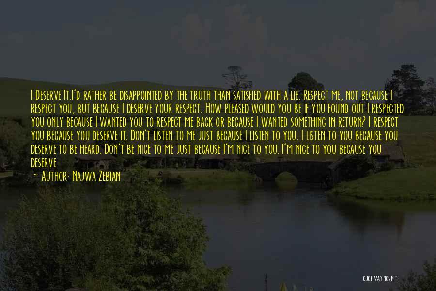 Feelings From Heart Quotes By Najwa Zebian