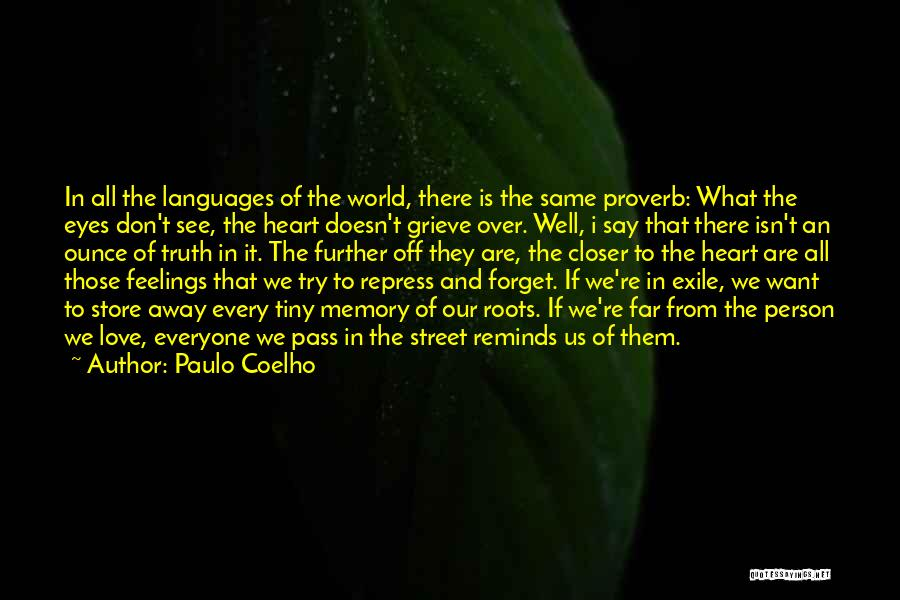 Feelings From Heart Quotes By Paulo Coelho