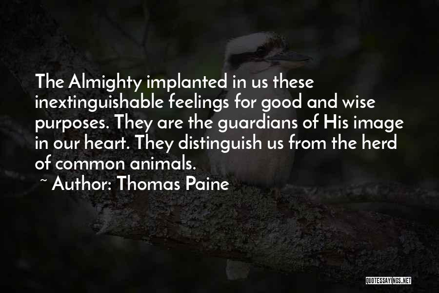 Feelings From Heart Quotes By Thomas Paine