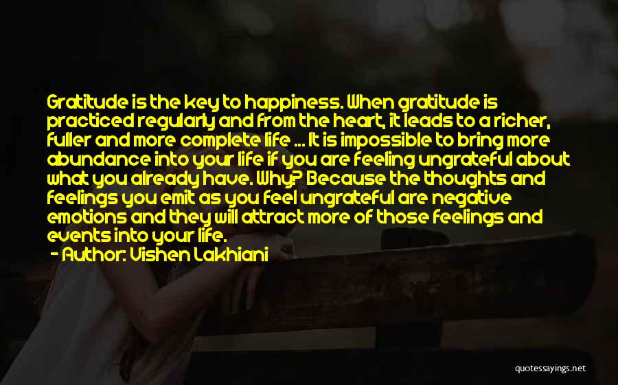 Feelings From Heart Quotes By Vishen Lakhiani