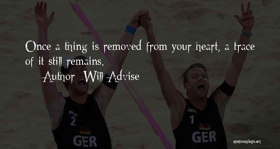 Feelings From Heart Quotes By Will Advise