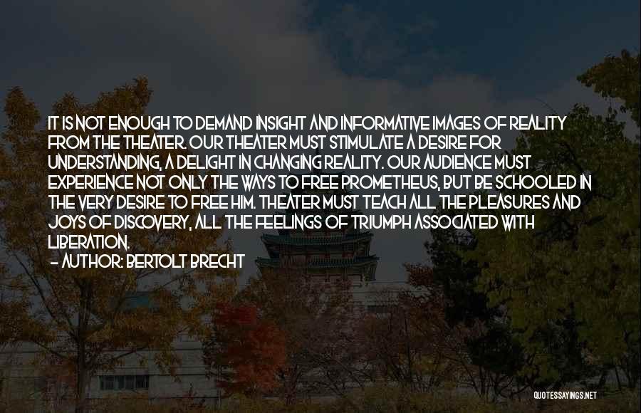 Feelings Images Quotes By Bertolt Brecht