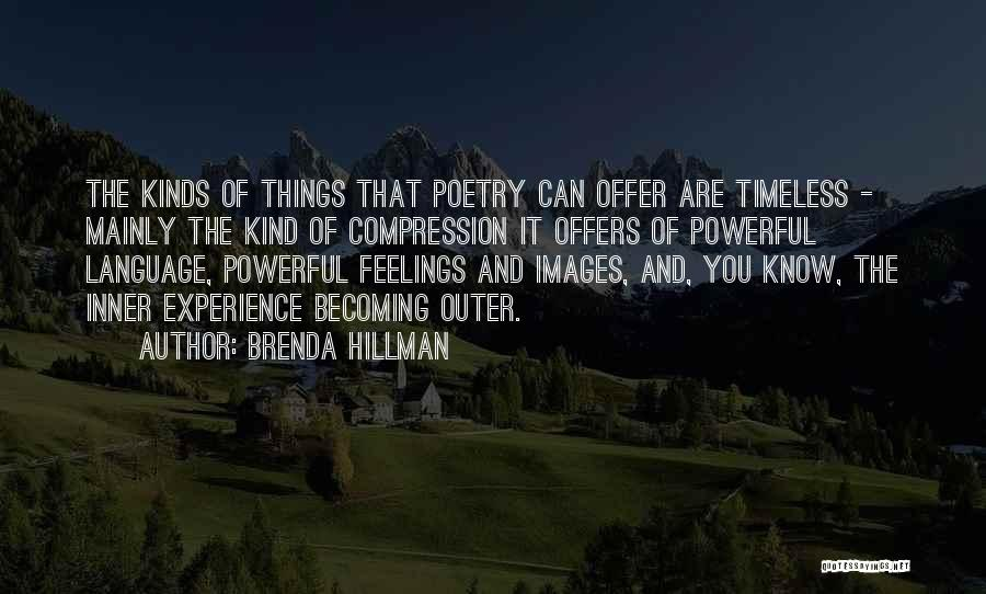 Feelings Images Quotes By Brenda Hillman