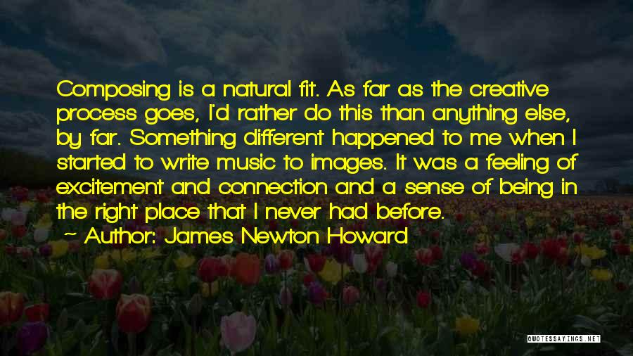 Feelings Images Quotes By James Newton Howard
