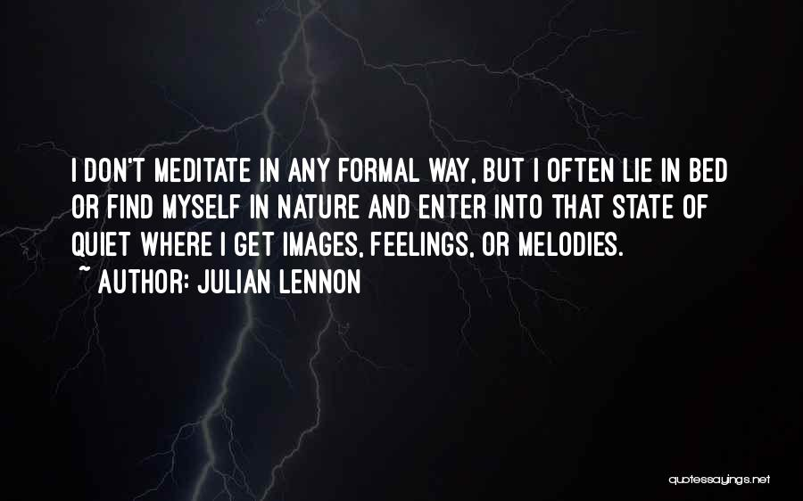 Feelings Images Quotes By Julian Lennon