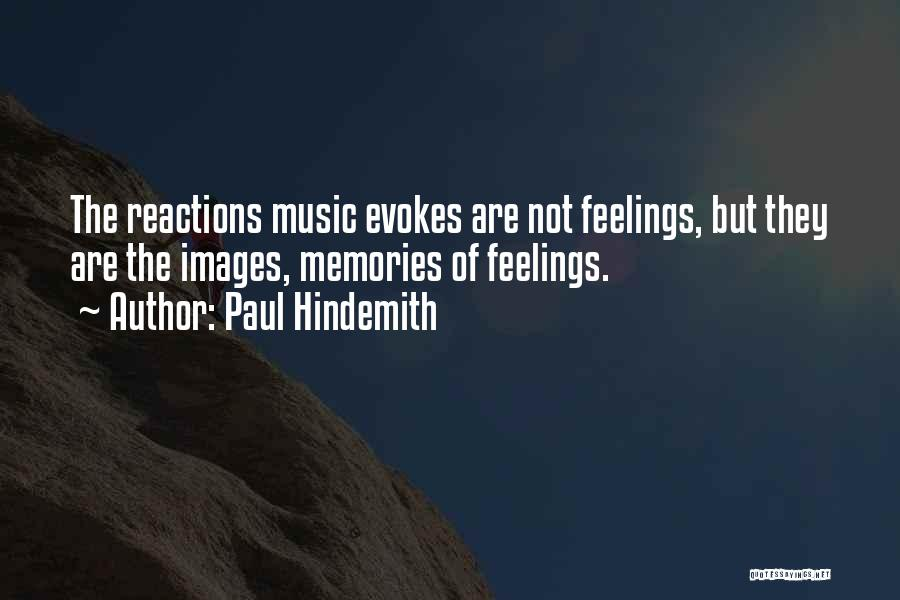 Feelings Images Quotes By Paul Hindemith