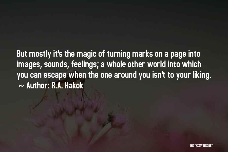 Feelings Images Quotes By R.A. Hakok