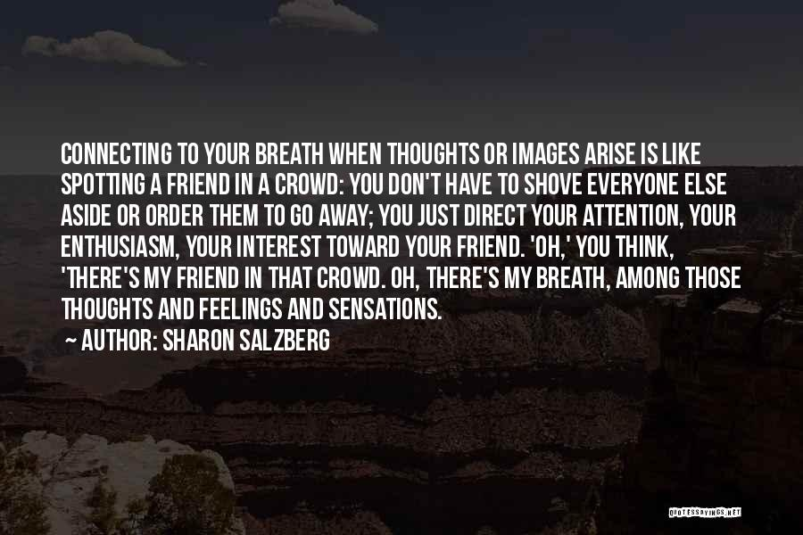 Feelings Images Quotes By Sharon Salzberg