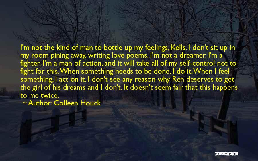 Feelings Of Love Quotes By Colleen Houck