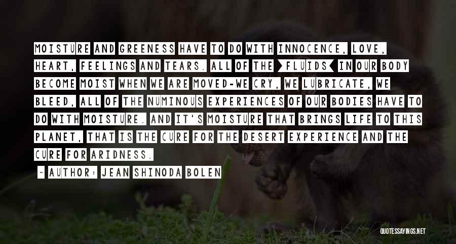 Feelings Of Love Quotes By Jean Shinoda Bolen