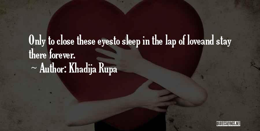Feelings Of Love Quotes By Khadija Rupa