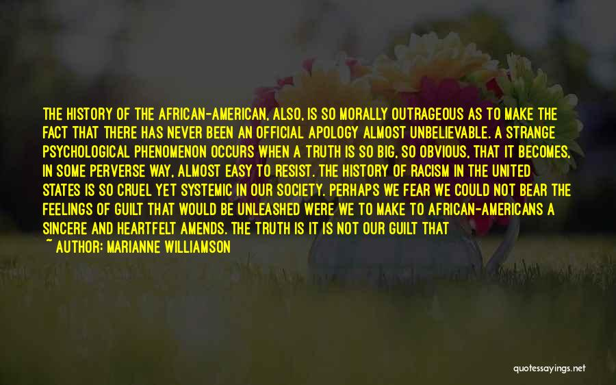 Feelings Of Love Quotes By Marianne Williamson