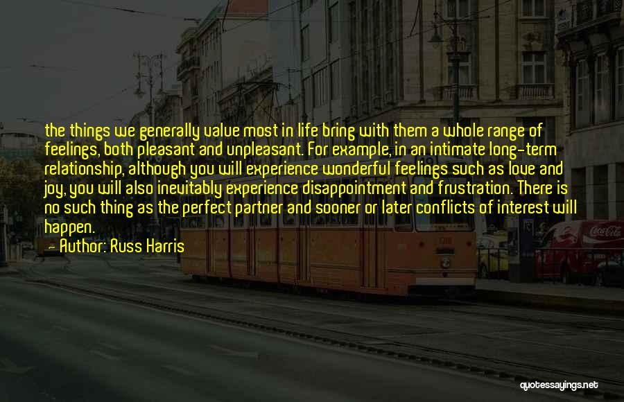 Feelings Of Love Quotes By Russ Harris
